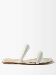 Rochas - Metallic Brocade Pleated Skirt - Womens - Gold