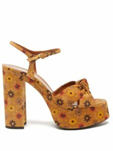 Comme Des Garçons Girl - Velvet Trimmed Pleated Wool Midi Skirt - Womens - Navy Black