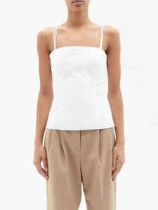 Richard Quinn - Crystal Embellished Tulle Dress - Womens - Yellow Multi