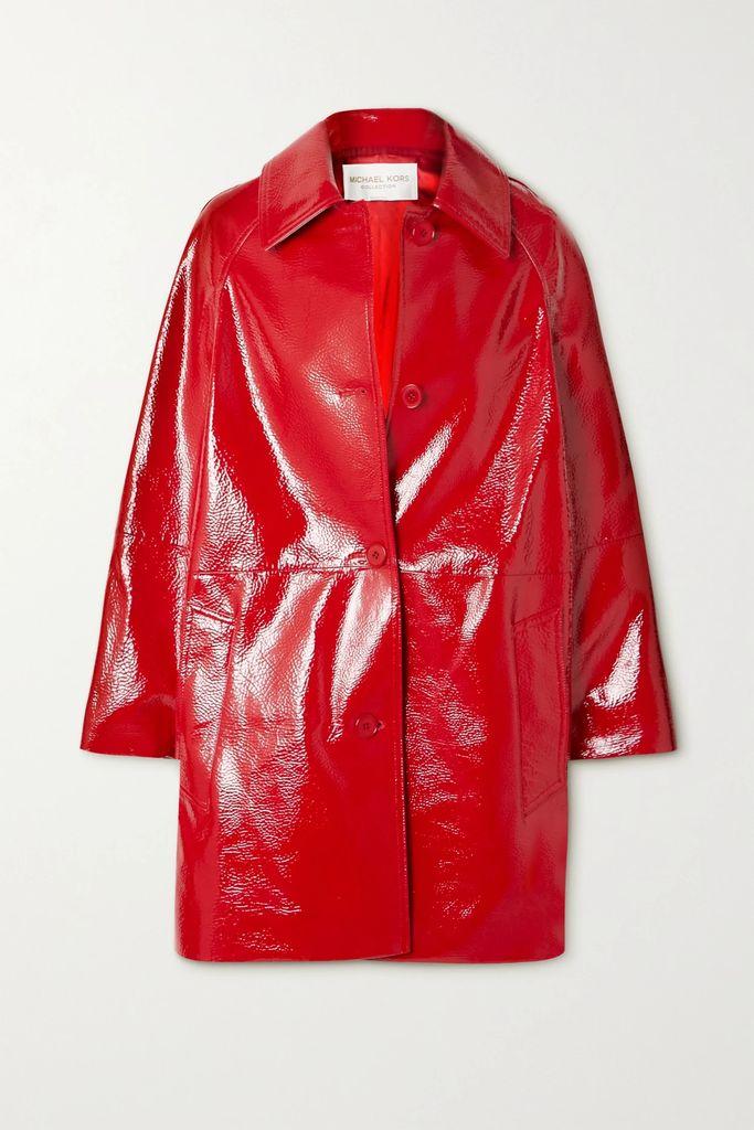 Valentino - Valentino Garavani Uptown Medium Leather Shoulder Bag - Red