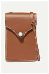 Ratio et Motus - Disco Mini Leather Shoulder Bag - Brown