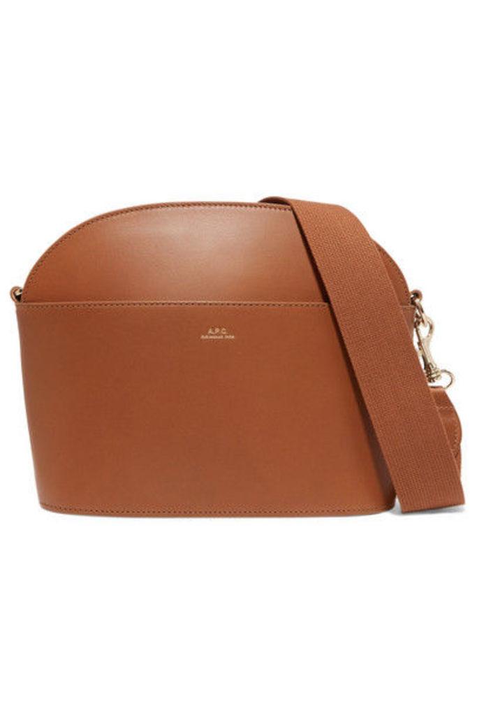 A.P.C. Atelier de Production et de Création - Gaby Leather Shoulder Bag - Tan
