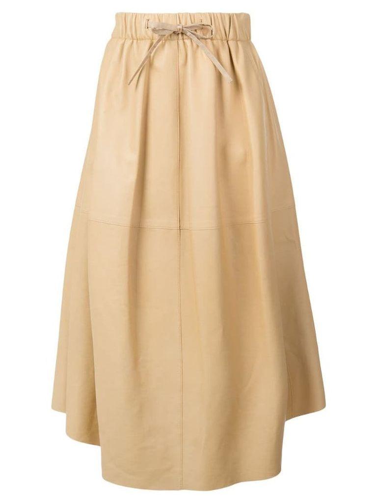 Vince drape panel skirt - Neutrals