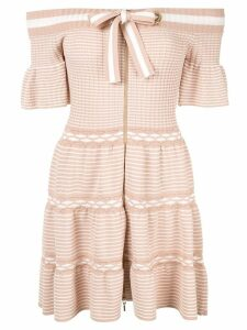 Alice Mccall Don't Forget About Me mini dress - Neutrals