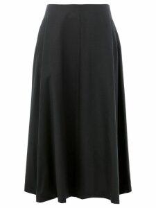 Comme Des Garçons Noir Kei Ninomiya high flared midi skirt - Black
