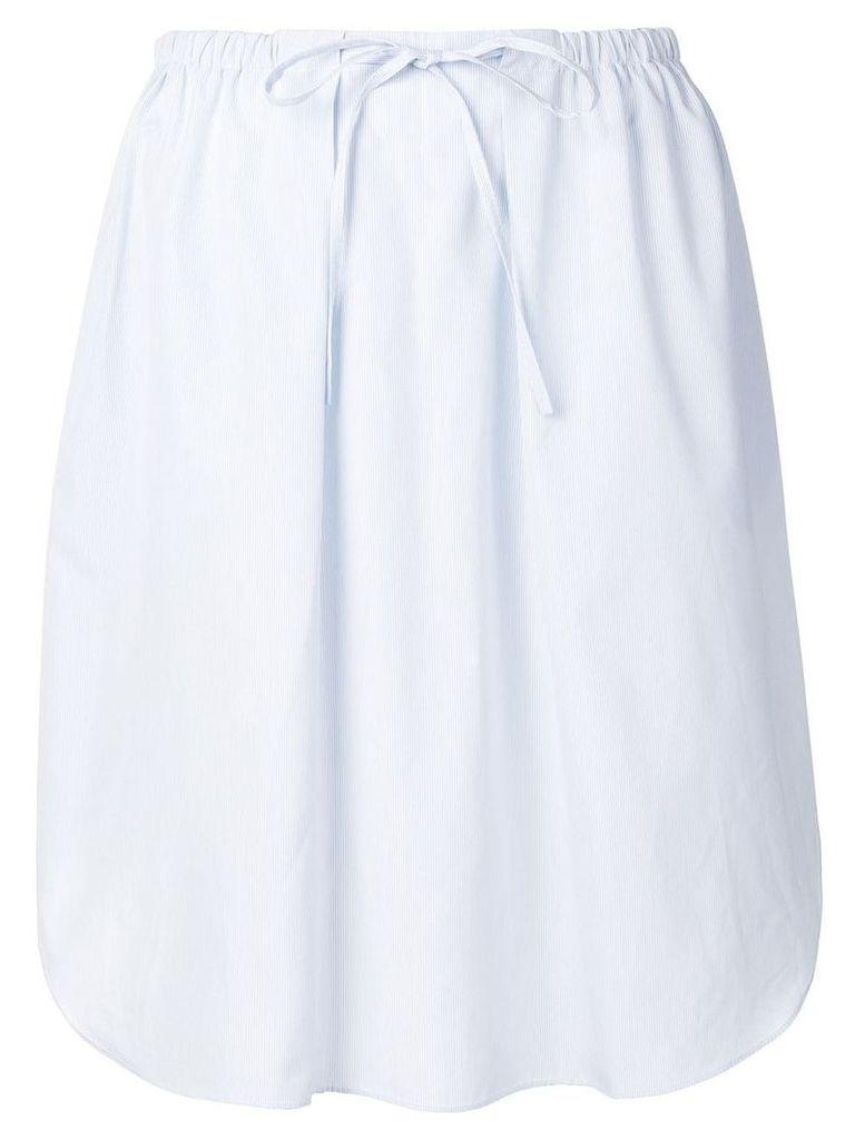 Jil Sander Navy drawstring skirt - Blue