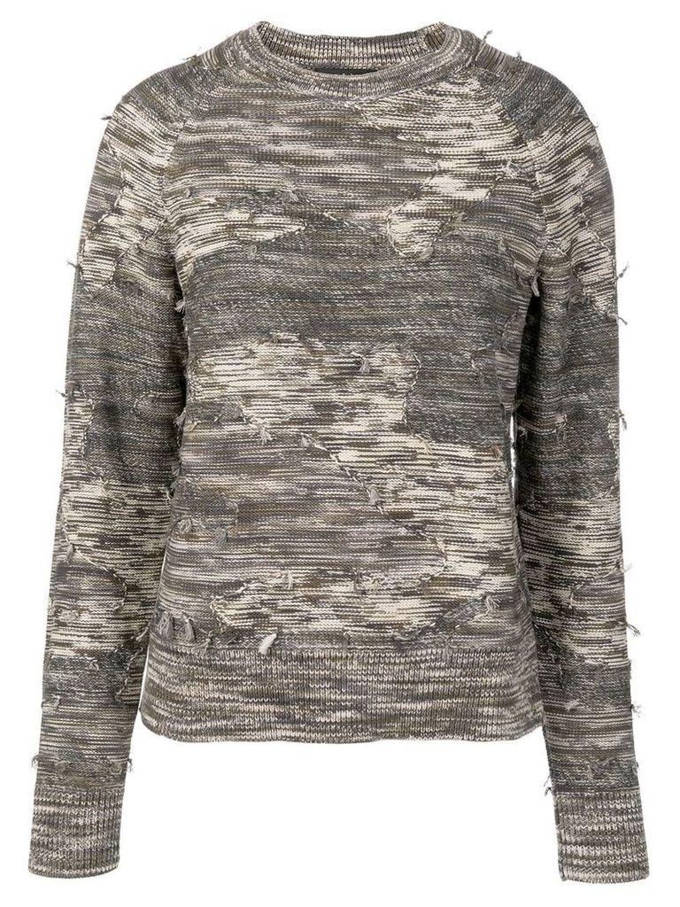 Rag & Bone army knit jumper - Green