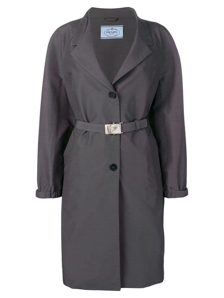 Prada Gabardina trench coat - Grey