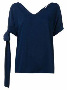 P.A.R.O.S.H. sleeve strap T-shirt - Blue