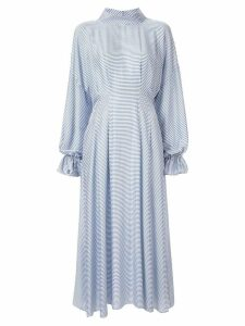 Rachel Comey striped midi dress - White