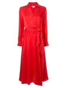 Equipment tie waist dress - Red