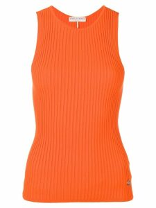 Emilio Pucci Ribbed Knit Tank Top - Orange