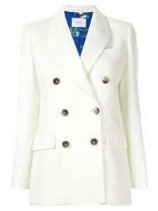 Racil classic double-breasted blazer - White