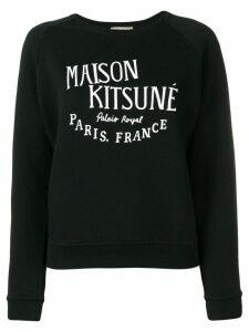 Maison Kitsuné Palais Royal sweatshirt - Black