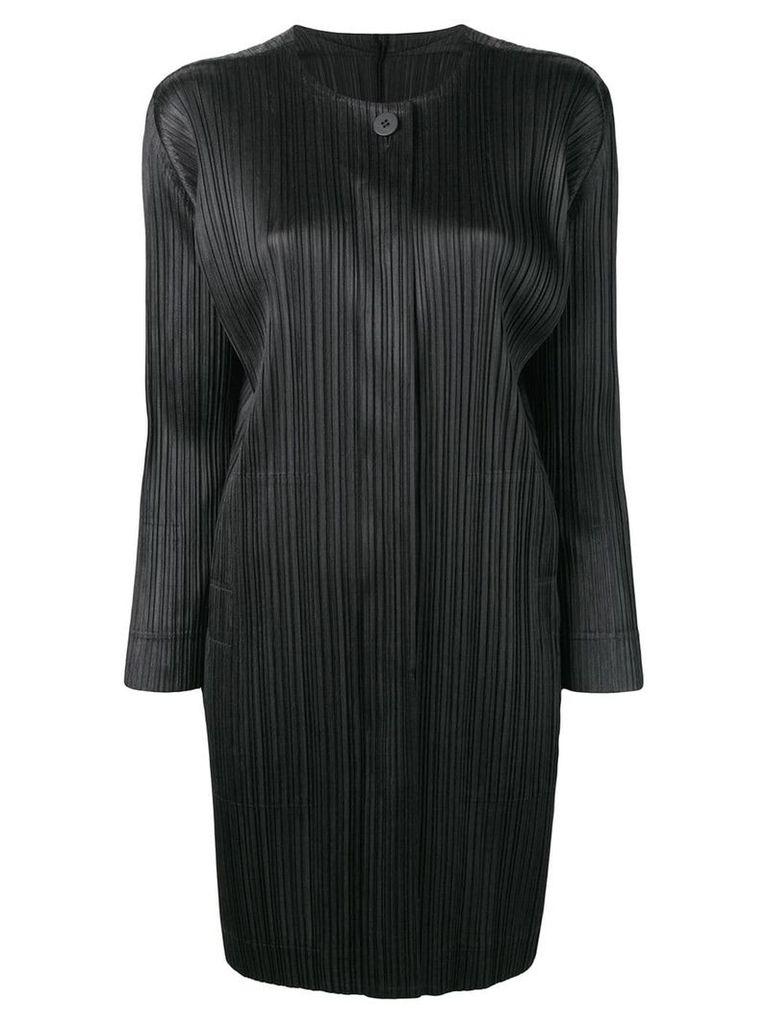 Pleats Please By Issey Miyake pleated jacket - Black