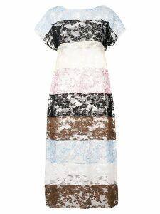 Ports 1961 sheer lace dress - Black