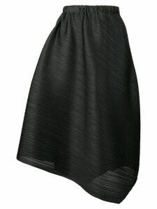 Pleats Please By Issey Miyake loose-fit midi skirt - Black