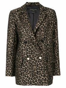 Mother Of Pearl leopard print blazer - Brown