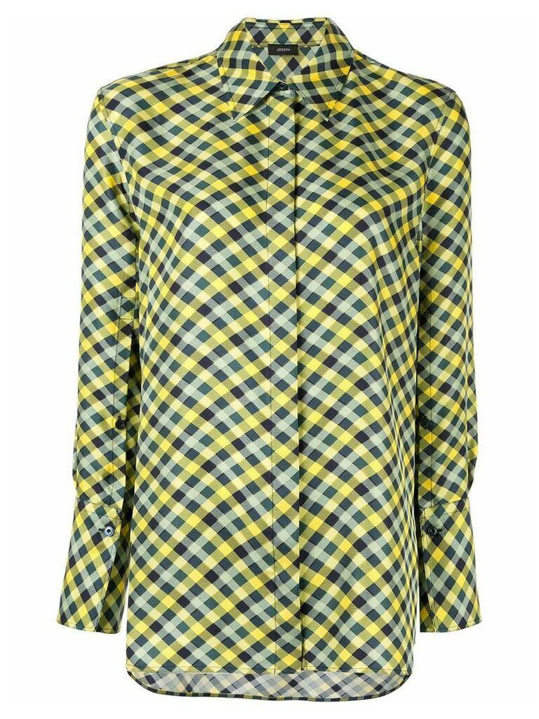 Joseph gingham shirt - Yellow