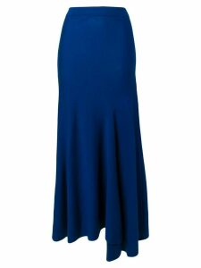 Ports 1961 long asymmetric skirt - Blue