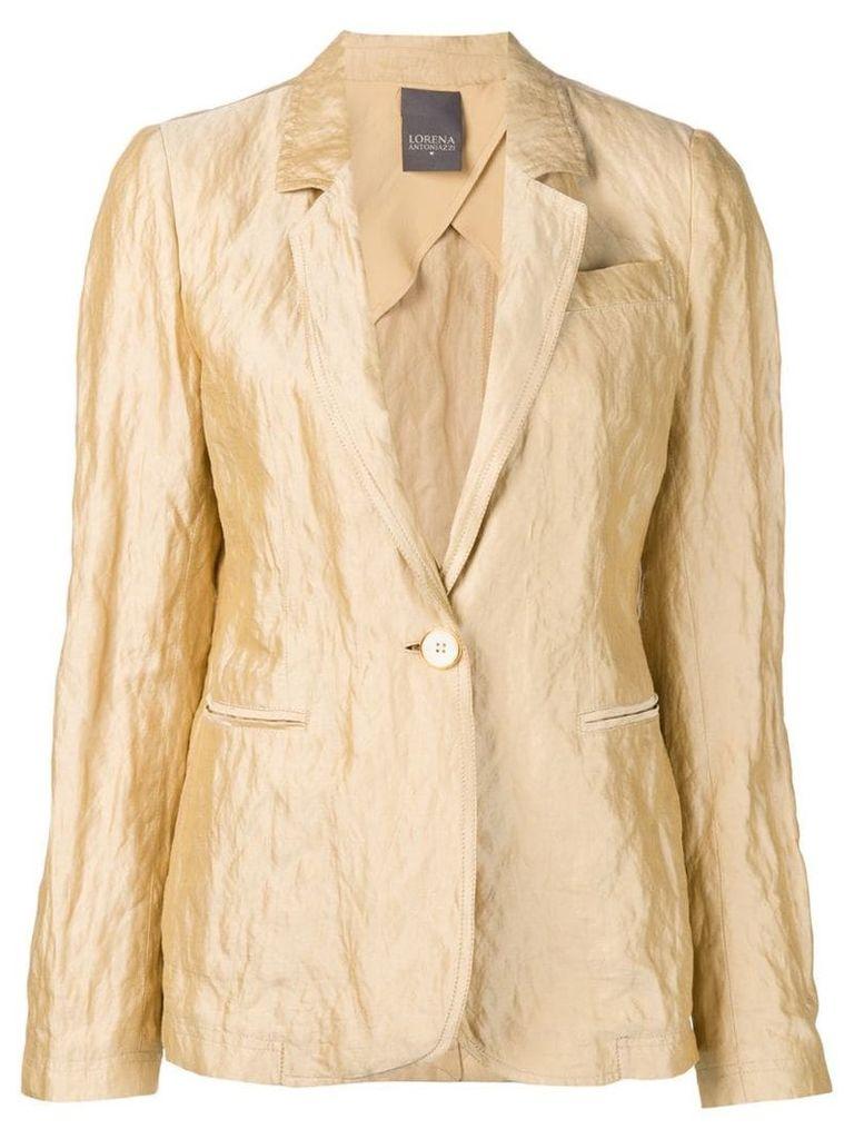 Lorena Antoniazzi beige relaxed blazer - Neutrals