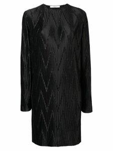 Givenchy zig-zag pleated dress - Black