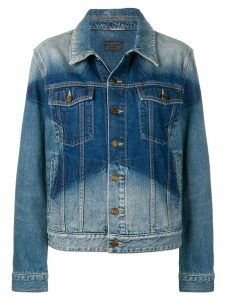Saint Laurent faded star jacket - Blue