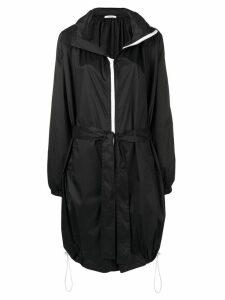 Givenchy mid-length belted raincoat - Black