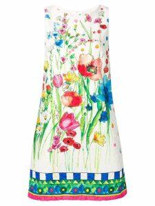 Blugirl watercolour floral print shift dress - Neutrals