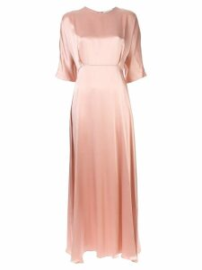 Mansur Gavriel Charmeuse Fine dress - Pink