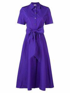 P.A.R.O.S.H. midi shirt dress - Purple