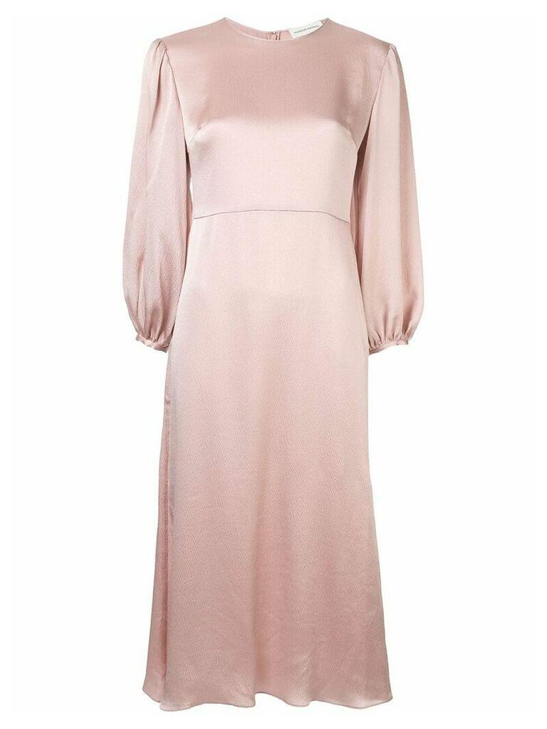 Mansur Gavriel bishop sleeve dress - Pink
