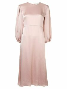 Mansur Gavriel bishop sleeve dress - Pink