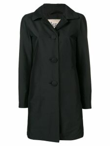 Herno peter pan collar trench coat - Black