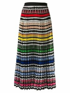 Mary Katrantzou rainbow stripe skirt - Multicolour