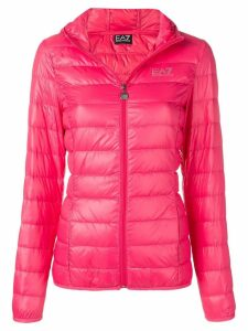 Ea7 Emporio Armani hooded puffer jacket - Pink