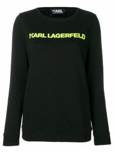 Karl Lagerfeld logo sweatshirt - Black