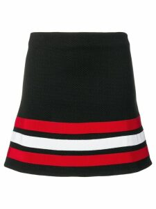 Love Moschino black striped skirt