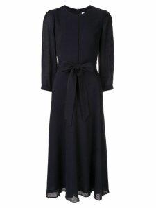 Cefinn belted midi dress - Blue