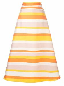 Taller Marmo striped a-line skirt - Multicolour