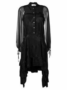 Coach asymmetric jacquard dress - Black