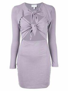 Alice Mccall Real Thing mini dress - Purple