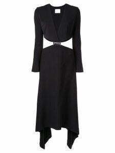 Dion Lee modular E-hook dress - Black