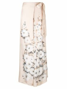 By. Bonnie Young floral print palazzo pants - Pink