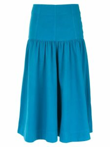 Andrea Bogosian midi denim skirt - Blue