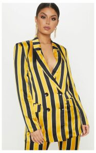 Yellow Stripe Blazer, Yellow