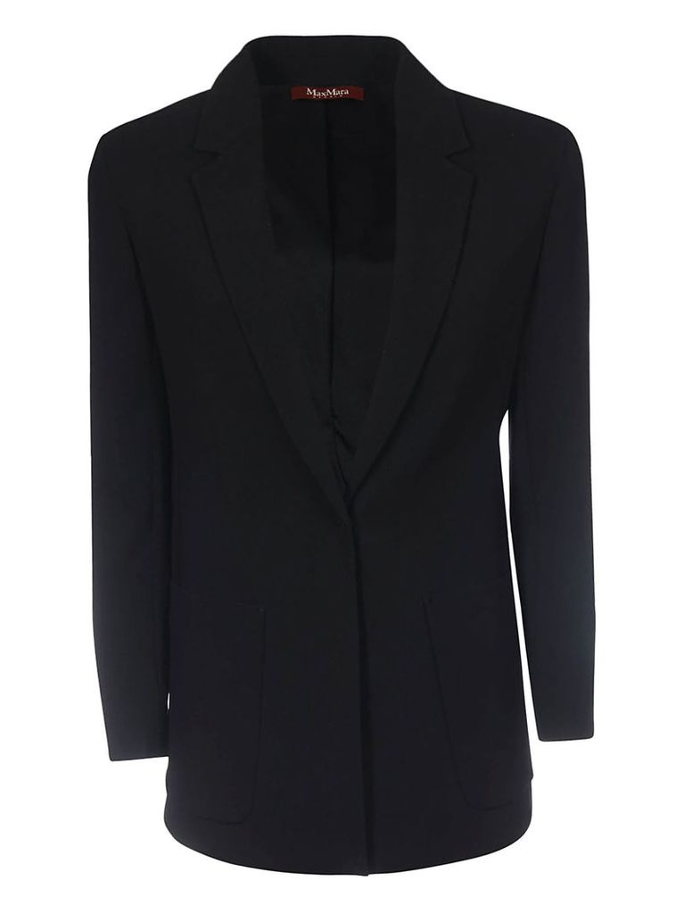 Max Mara Studio Single Breasted Blazer