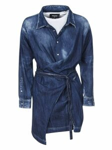 Dsquared2 Dsquared2 Tie Fastening Shirt Dress