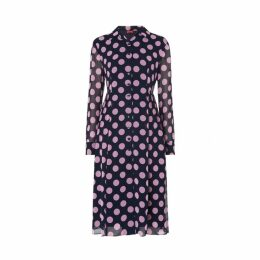 Kitri Lotta Polka Dot Shirt Dress
