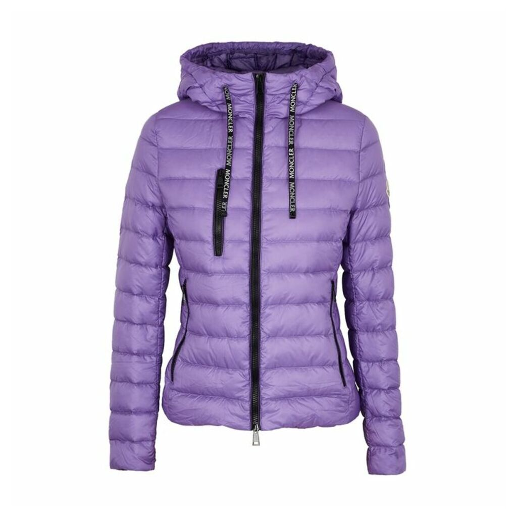 Moncler Seoul Lilac Quilted Shell Jacket